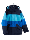 BURTON Symbol Snowboard Jacket Youth Cyan Multi 2021 YOUTH INFANT OUTERWEAR - Youth Snowboard Jackets Burton