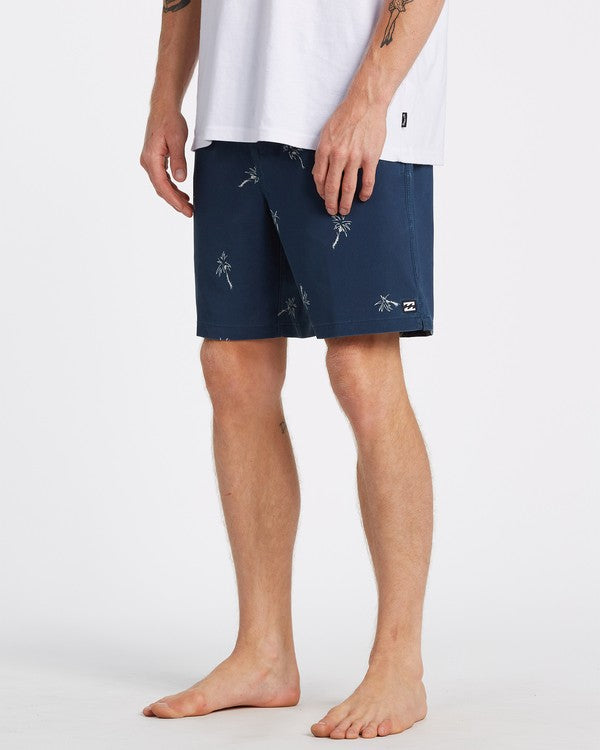 "BILLABONG Sundays Layback 17"" Boardshorts Dark Blue"