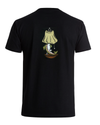 CUTTS AND BOWS Haslam Trout Lamp T-Shirt Black