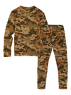 BURTON Fleece Base Layer Set Kid's Kelp Birch Camo YOUTH INFANT OUTERWEAR - Youth Base Layer Burton
