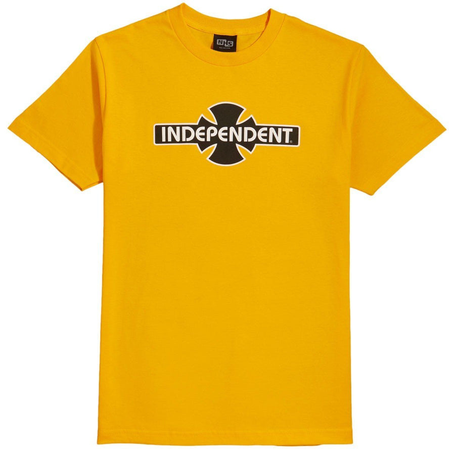 INDEPENDENT O.G.B.C. S/S T-Shirt Gold MENS APPAREL - Men's Short Sleeve T-Shirts Independent
