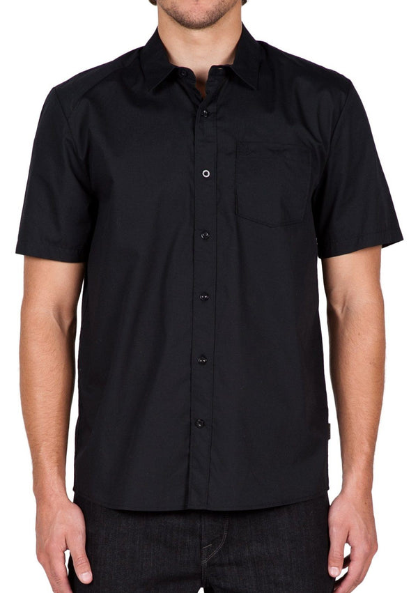 VOLCOM Everett Solid S/S Button Up