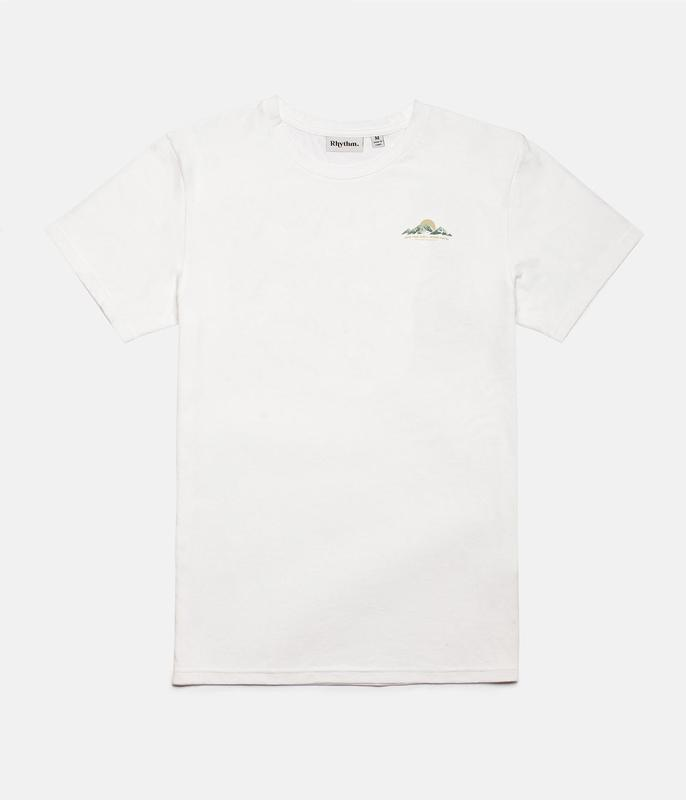 RHYTHM Highlands T-Shirt White