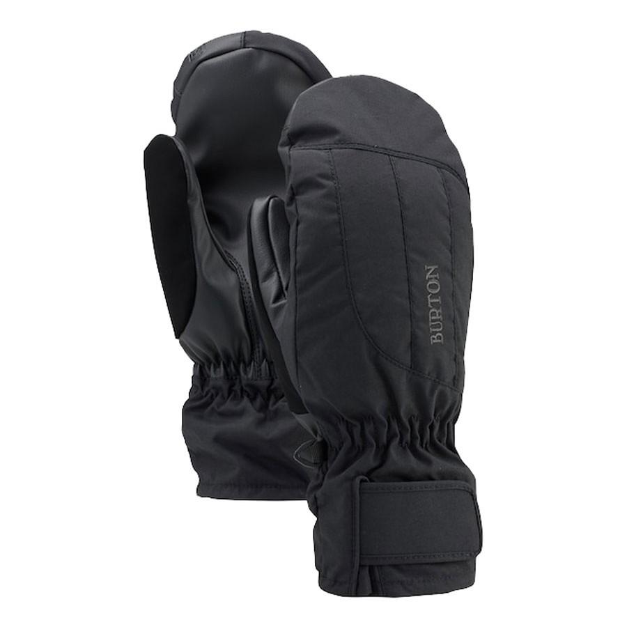 BURTON Profile Under Mitten Women's True Black WINTER GLOVES - Women's Snowboard Gloves and Mitts Burton M