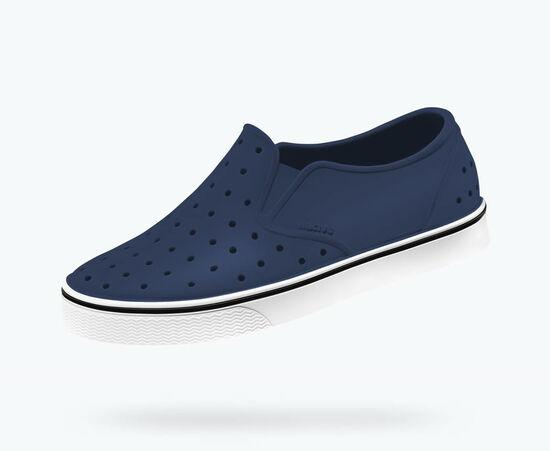 NATIVE Miles Junior Shoes Regatta Blue/Shell White FOOTWEAR - Youth Native and People Shoes Native Shoes