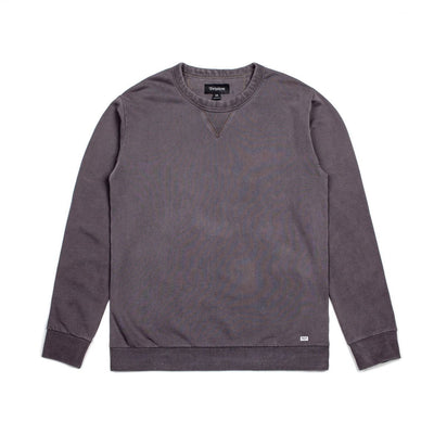 BRIXTON Hackney Crewneck MENS APPAREL - Men's Sweaters and Sweatshirts Brixton GRAPHITE M