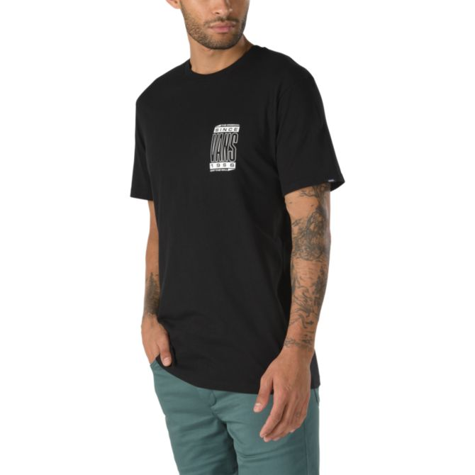 VANS High Type T-Shirt Black