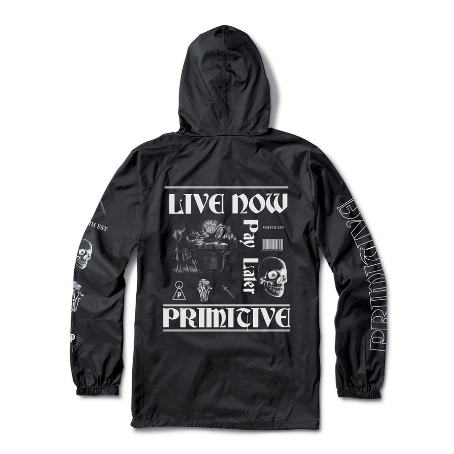PRIMITIVE Founders Anorak jacket Black