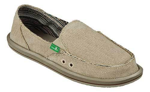 SANUK Donna Hemp Slip-On Womens