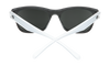 SPY Sundowner Matte Black/Matte Crystal - Grey w/Red Spectra Sunglasses
