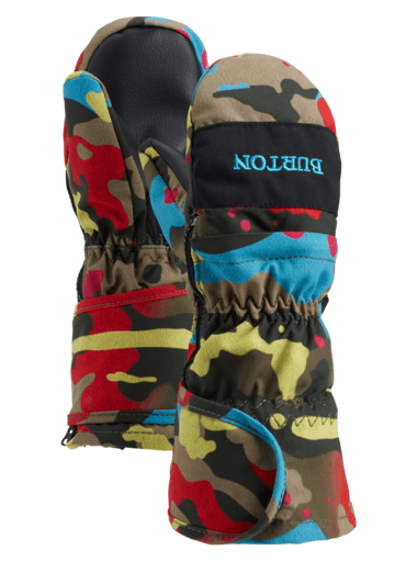 BURTON Toddler Mitt Bright Birch Camo WINTER GLOVES - Youth Snowboard Gloves and Mitts Burton