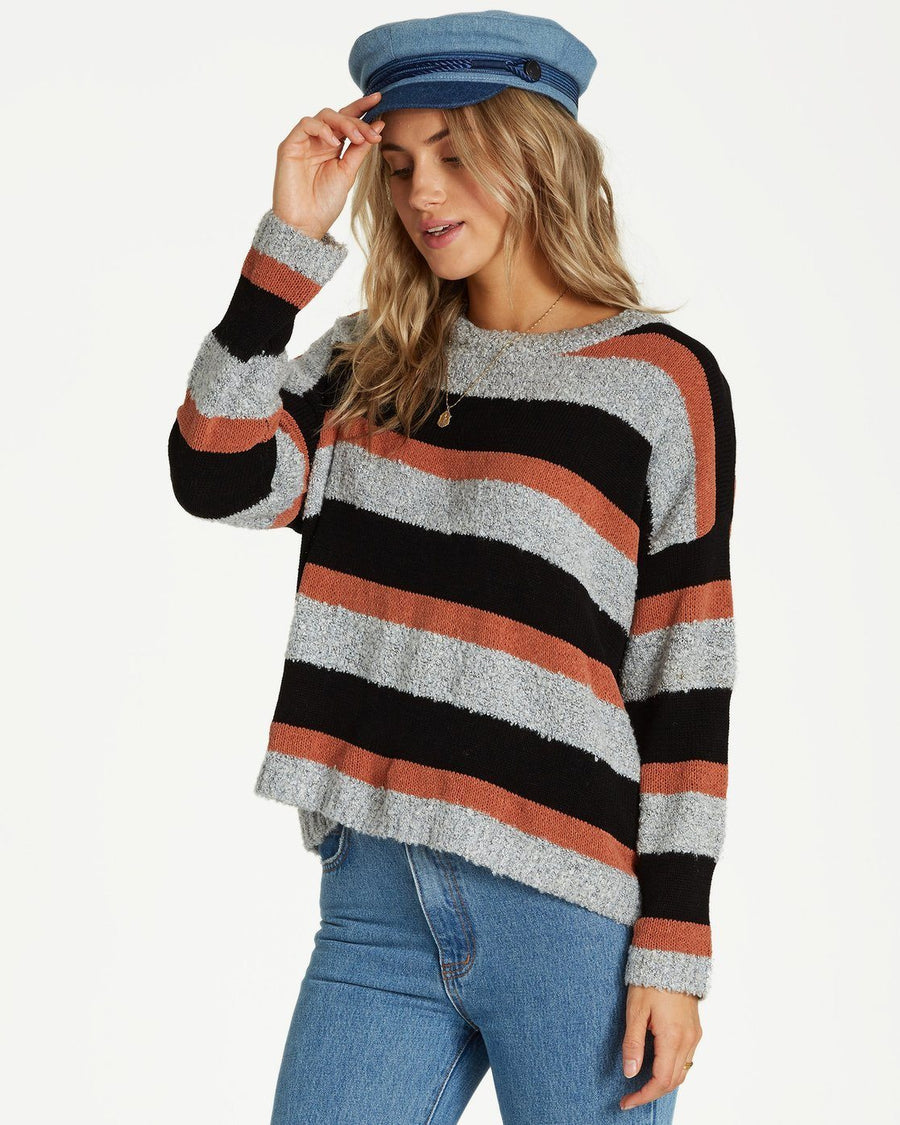 BILLABONG Bold Moves Sweater Women's Cacao