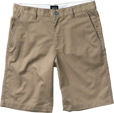 "RVCA Americana 22"" Walkshorts MENS APPAREL - Men's Walkshorts RVCA DARK KHAKI 38"