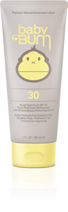 SUN BUM Baby Bum SPF 30 Lotion 3oz. ACCESSORIES - Sunscreen Sun Bum