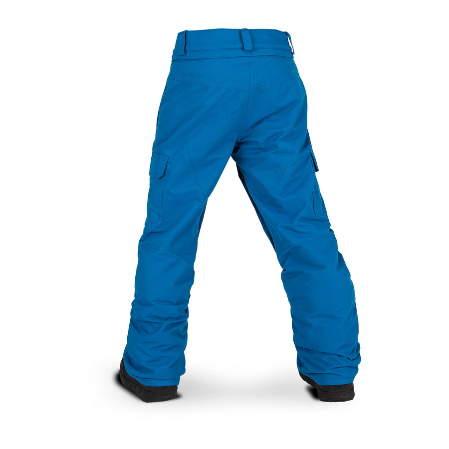 VOLCOM Cargo Insulated Youth Snowboard Pants Blue 2020 YOUTH INFANT OUTERWEAR - Youth Snowboard Pants Volcom L