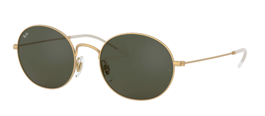 RAY-BAN Beat Gold - Green Classic Sunglasses