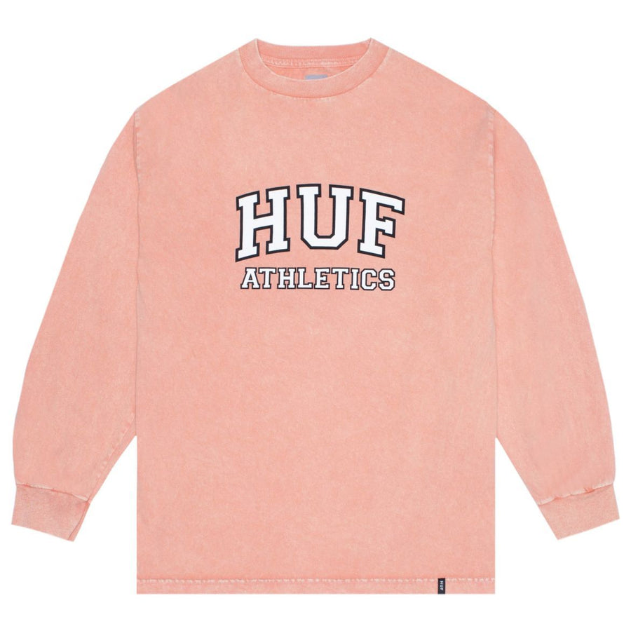 HUF Draft Acid Wash L/S T-Shirt Canyon Sunset