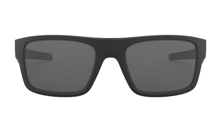 OAKLEY Drop Point Matte Black - Grey Sunglasses