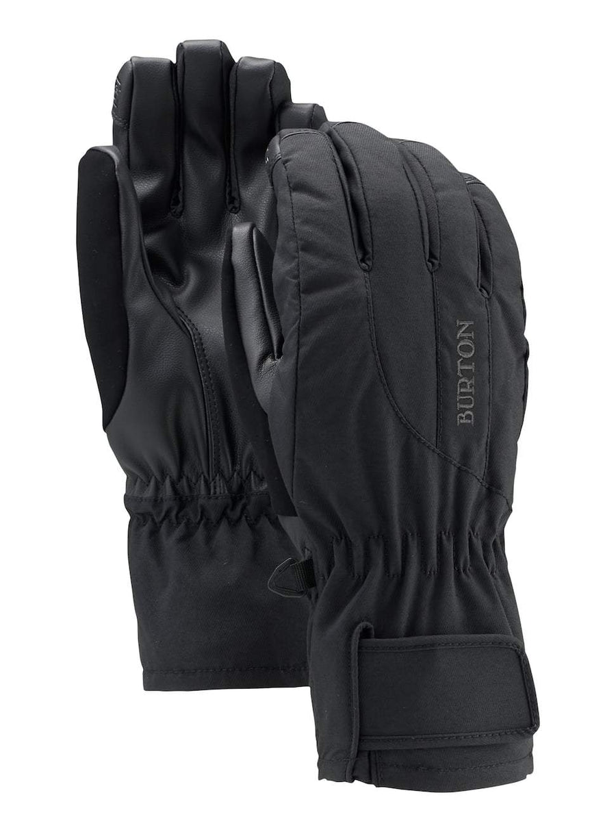 BURTON Profile Under Glove Women's True Black WINTER GLOVES - Women's Snowboard Gloves and Mitts Burton L