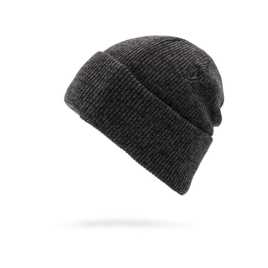 VOLCOM Heathers Beanie Dark Grey MENS ACCESSORIES - Men's Beanies Volcom
