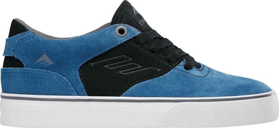 EMERICA The Reynolds Low Vulc Shoes Youth Blue/Black/White