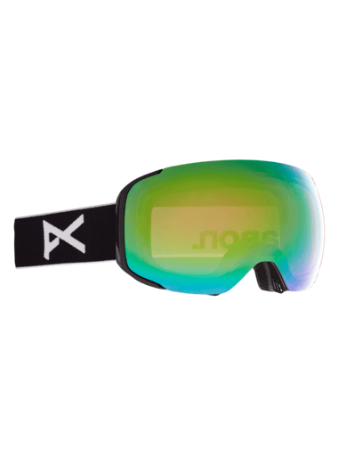 ANON M2 MFI Black - Perceive Variable Green + Perceive Cloudy Pink + Facemask Snow Goggle