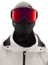 ANON M3 MFI Black - Perceive Sunny Red + Perceive Cloudy Burst + Facemask Snow Goggle GOGGLES - Anon Goggles Anon