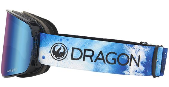 DRAGON NFX2 Permafrost - Lumalens Blue Ion + Lumalens Amber Snow Goggle