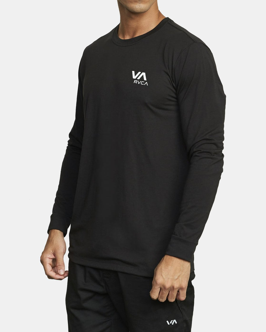 RVCA VA RVCA Long Sleeve T-Shirt Black