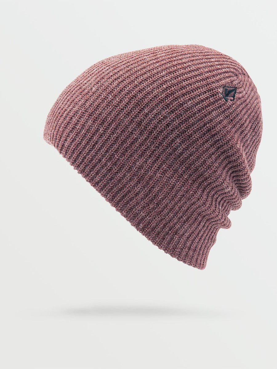 VOLCOM Power Beanie Women's Rose Wood WOMENS ACCESSORIES - Women's Beanies Volcom