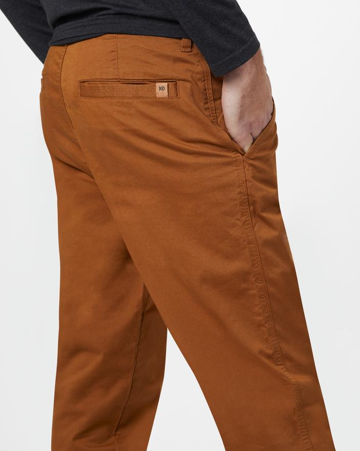 TENTREE Yale Pant Rubber Brown MENS APPAREL - Men's Pants Tentree