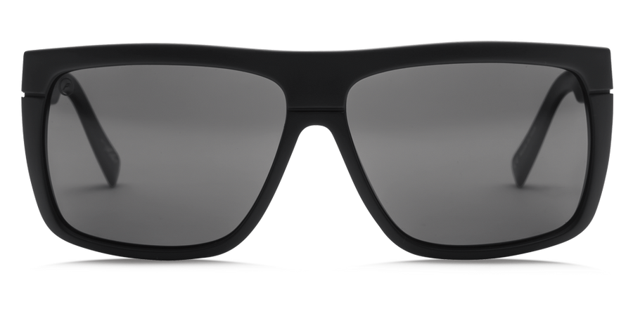 ELECTRIC Blacktop Matte Black - Grey Polarized Sunglasses SUNGLASSES - Electric Sunglasses Electric