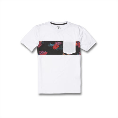 VOLCOM Patnation Pocket T-Shirt Boys White