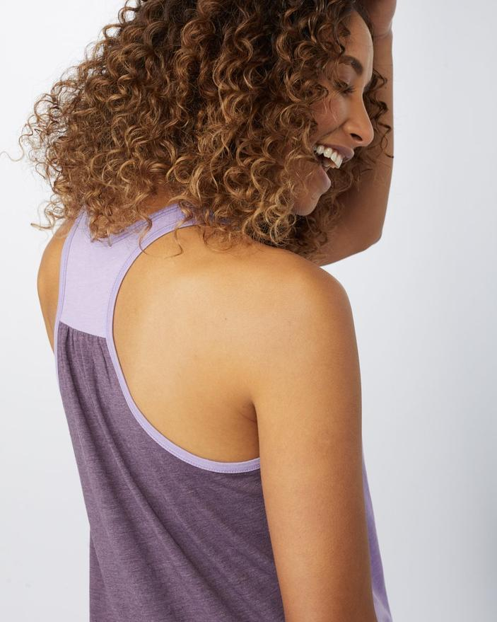 TENTREE Juniper Pocket Tank Top Women's Viola Purple