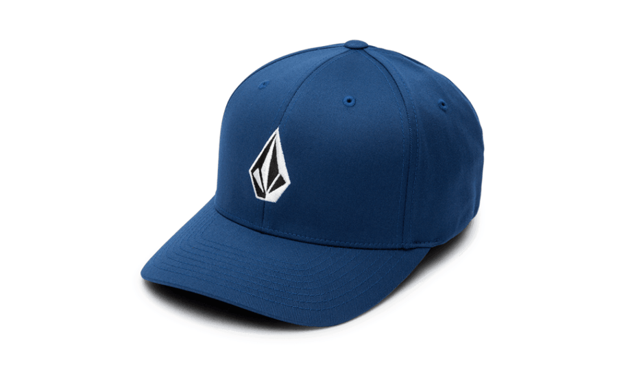 VOLCOM Full Stone XFit Hat Bold Blue MENS ACCESSORIES - Men's Baseball Hats Volcom