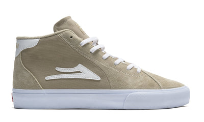 LAKAI Flaco 2 Mid Shoes Tan Suede FOOTWEAR - Men's Skate Shoes Lakai