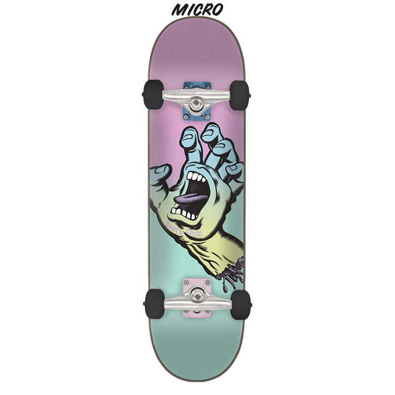 SANTA CRUZ Pastel Screaming Hand 6.75 Skateboard Complete