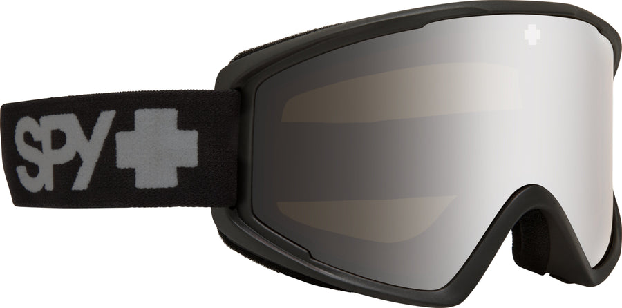 SPY Crusher Elite Matte Black - HD Bronze with Silver Spectra Mirror Snow Goggles GOGGLES - Spy Goggles Spy