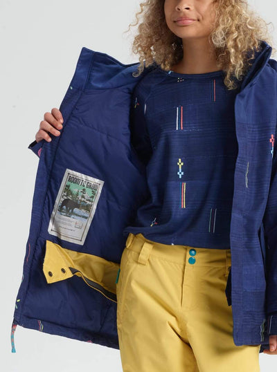BURTON Burton Elodie Jacket Girls Camp Craft/ Spellbound 2019