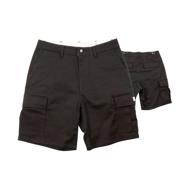 RDS Peacemaker Cargo Shorts Black MENS APPAREL - Men's Walkshorts RDS