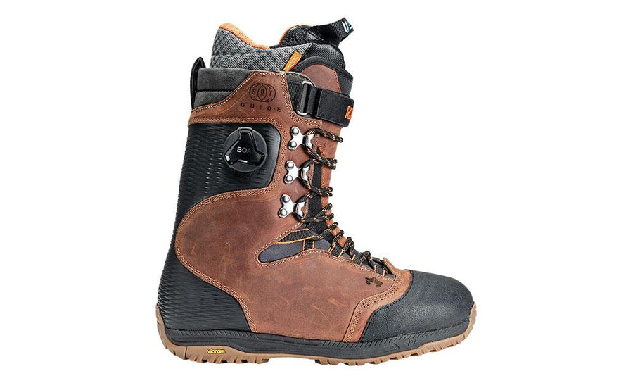 ROME Guide SRT Snowboard Boots Brown 2020 SNOWBOARD BOOTS - Men's Snowboard Boots Rome