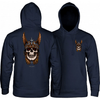 POWELL PERALTA Anderson Skull Pullover Hoodie Navy MENS APPAREL - Men's Pullover Hoodies Powell Peralta