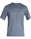 BILLABONG Union Loose Fit Surf T-Shirt Navy Heather
