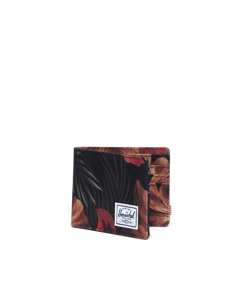 HERSCHEL Roy Wallet Tropical Hibiscus