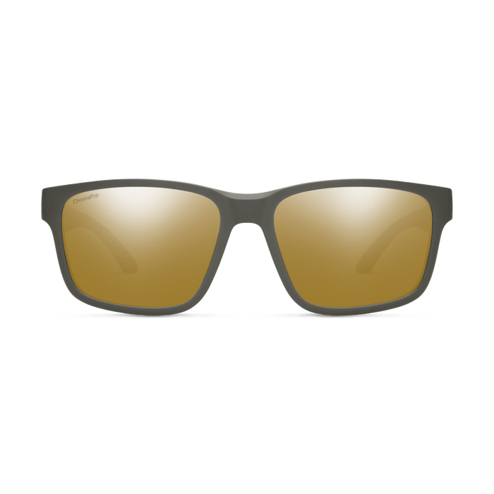 SMITH Basecamp Matte Gravy - ChromaPop Bronze Mirror Polarized Sunglasses SUNGLASSES - Smith Sunglasses Smith