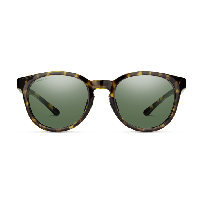 SMITH Eastbank Vintage Tort - ChromaPop Grey Green Polarized Sunglasses SUNGLASSES - Smith Sunglasses Smith