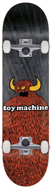 TOY MACHINE Furry Monster 8.25 Skateboard Complete SKATE SHOP - Skateboard Completes Toy Machine
