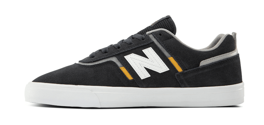 NEW BALANCE Numeric 306 Shoes Navy/Yellow FOOTWEAR - Men's Skate Shoes New Balance
