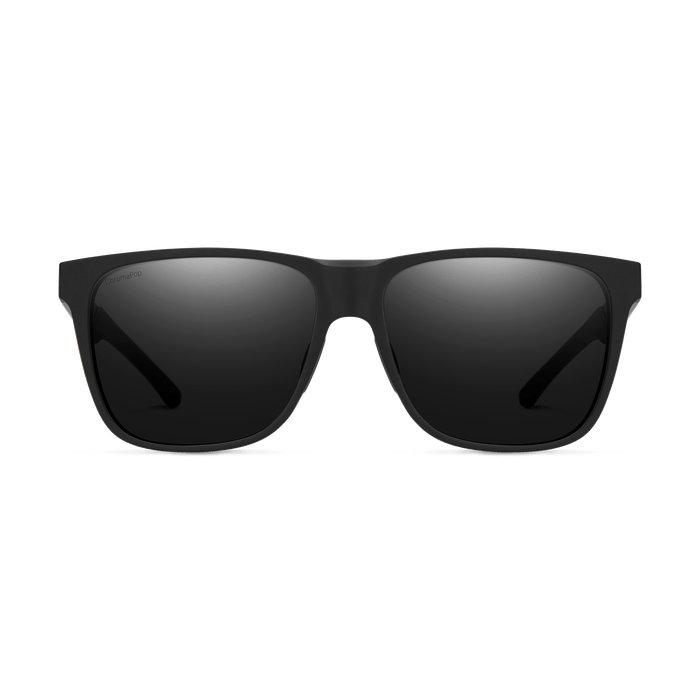 SMITH Lowdown Steel XL Matte Black - ChromaPop Black Polarized Sunglasses SUNGLASSES - Smith Sunglasses Smith