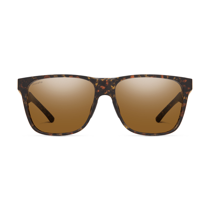 SMITH Lowdown Steel XL Matte Tortoise - ChromaPop Brown Polarized Sunglasses SUNGLASSES - Smith Sunglasses Smith